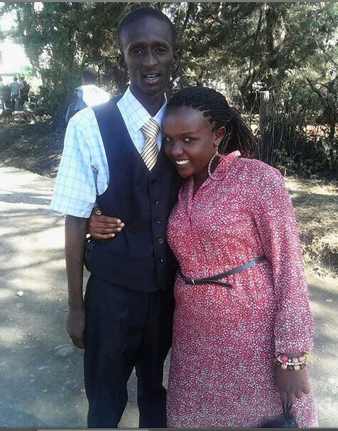 Screenshot from 2019 02 25 19 24 56 - Pesa ni sabuni! Photo of Njugush and wife when they were still ashy