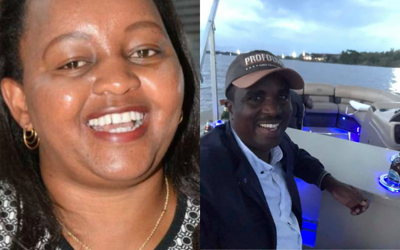 Anne Waiguru and Kamotho Waiganjo