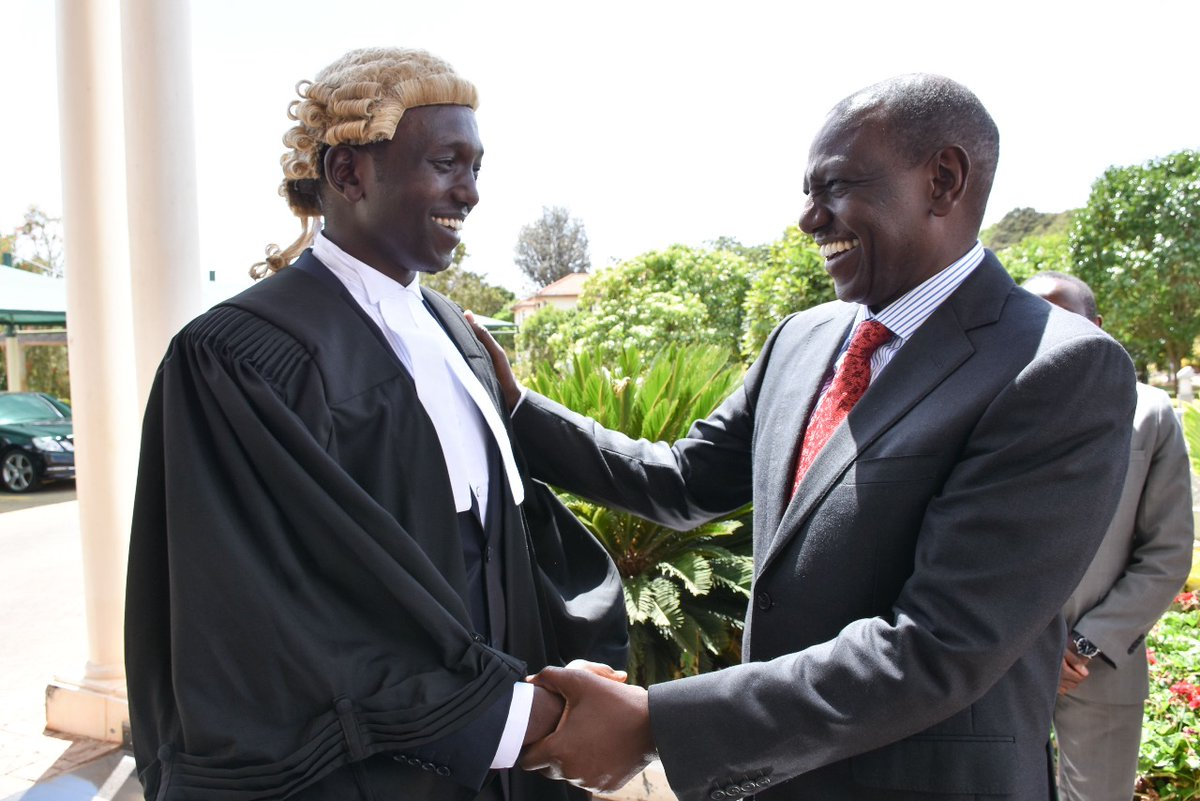 Willian Ruto and son - 'May you stand true to your calling as a defender,' DP Ruto's deep message to son