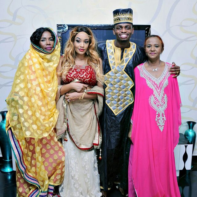 Zari's late mother when she met Diamond's family