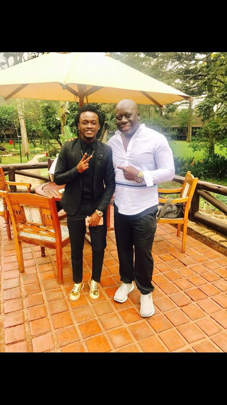 a9042ee3 0a0f 4263 9da0 36b01ca7c249 - What is going on? David Wonder ponders leaving Bahati's label record