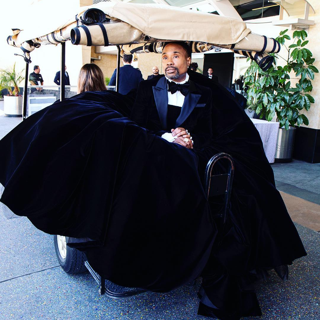 billy porter.. - Gay Hollywood actor wears dress to the Oscars [PHOTOS]
