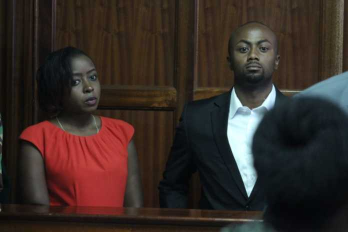 Jacque Maribe and Joe Irungu