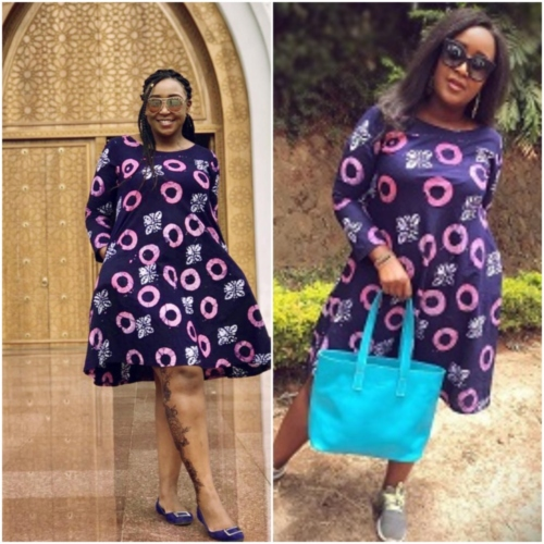 pjimage 3 1 - Who wore it better? Betty Kyallo and Mercy slay in similar outfits