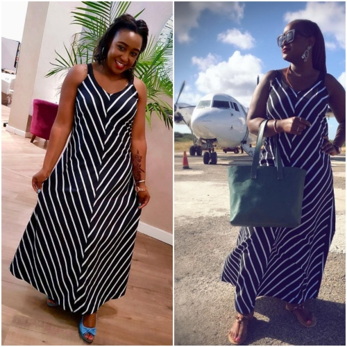 pjimage 4 1 - Who wore it better? Betty Kyallo and Mercy slay in similar outfits