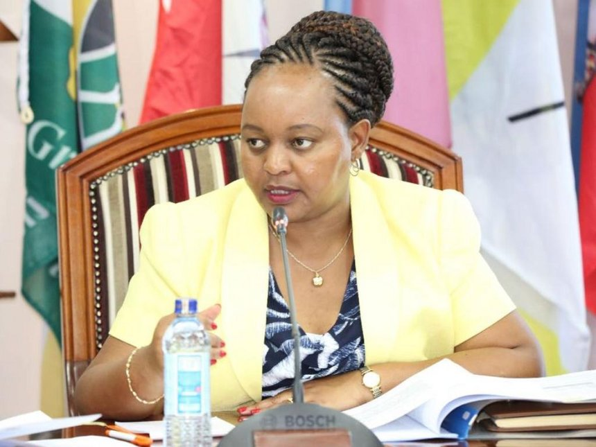 Image result for waiguru's short hair