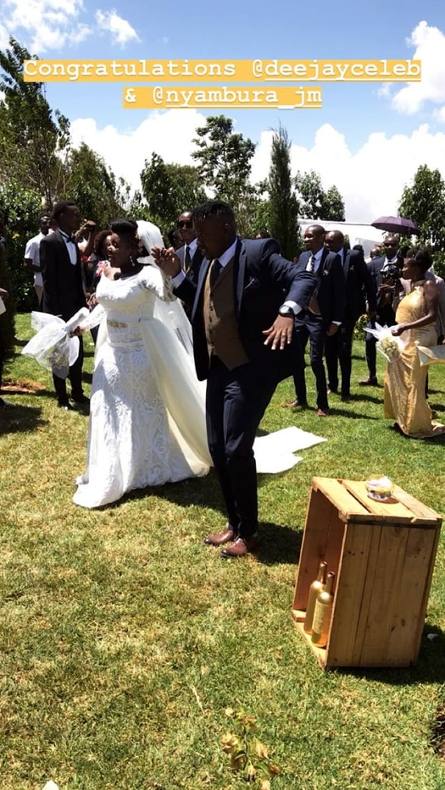 52024271 119550325811752 7452337760749537292 n - Finally! K24's Deejay Celeb walks down the aisle (Photos)