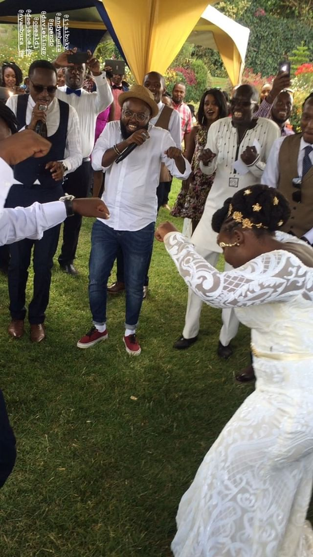 53109672 2380766065288761 4701029809682423259 n - Finally! K24's Deejay Celeb walks down the aisle (Photos)