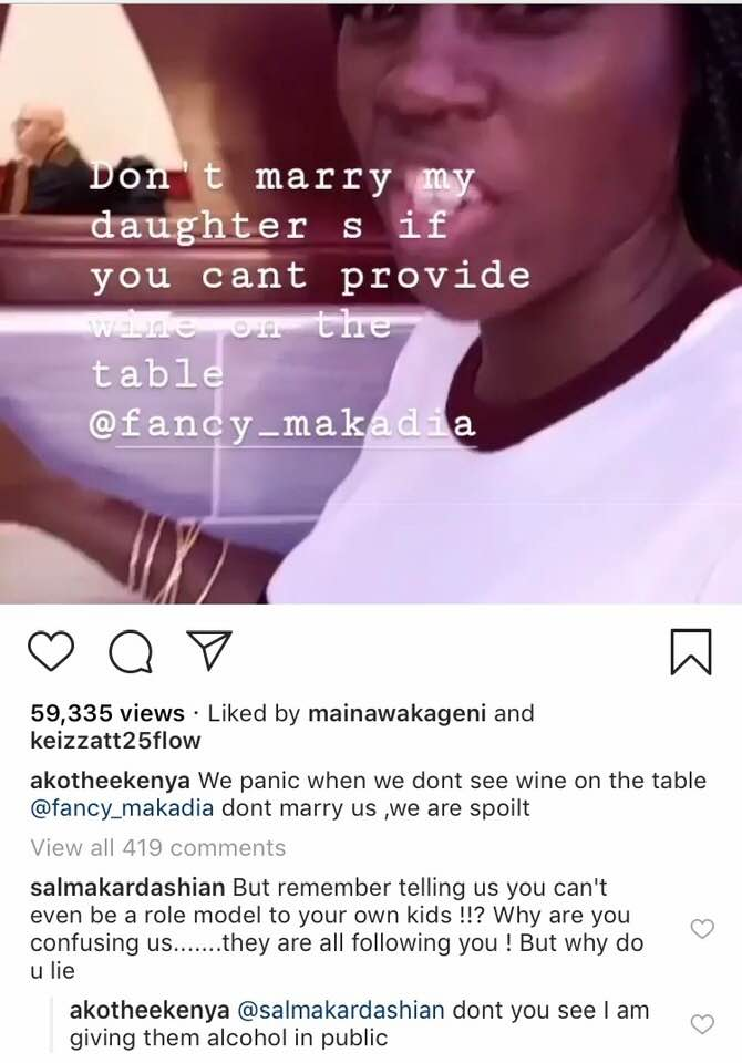 53188148 2363496367017479 9197953161971630080 n - You'll marry me if I don't get a boyfriend, Akothee's daughter tells mum