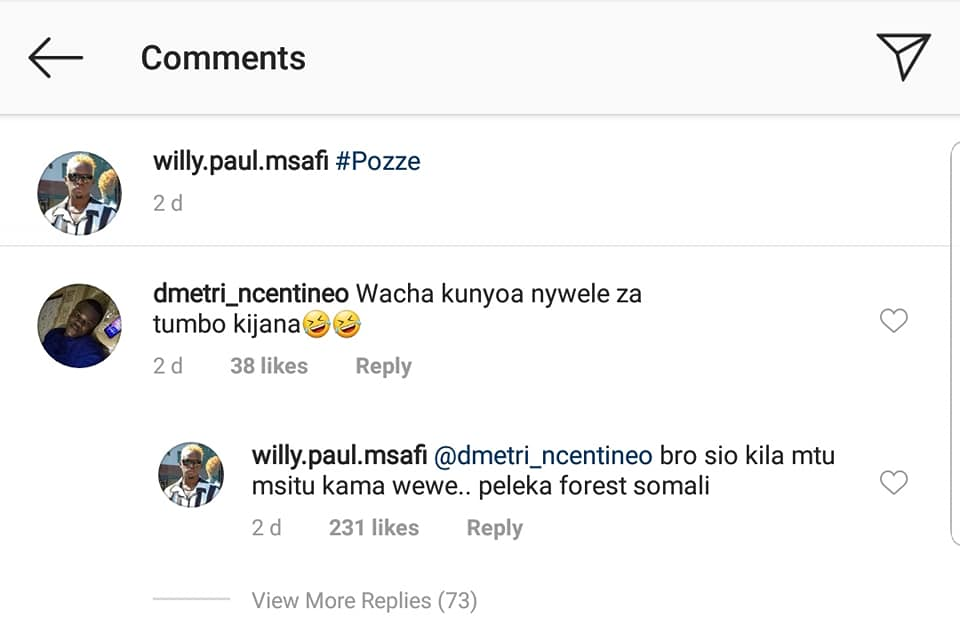 53454929 2370634856303630 4321371590999670784 n - 'Utapigiwa bibi!' Willy Paul attacks fan who said he rewinds boxers