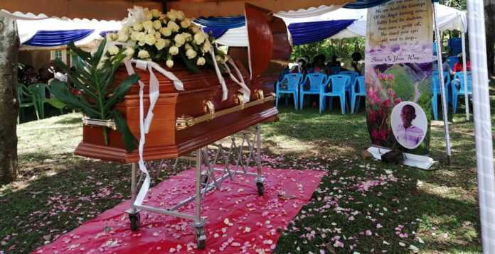 53666478 2258672670819537 7391494074802372608 n 696x358 - 'My life shall never be the same again!' Betty Opondo after burying son