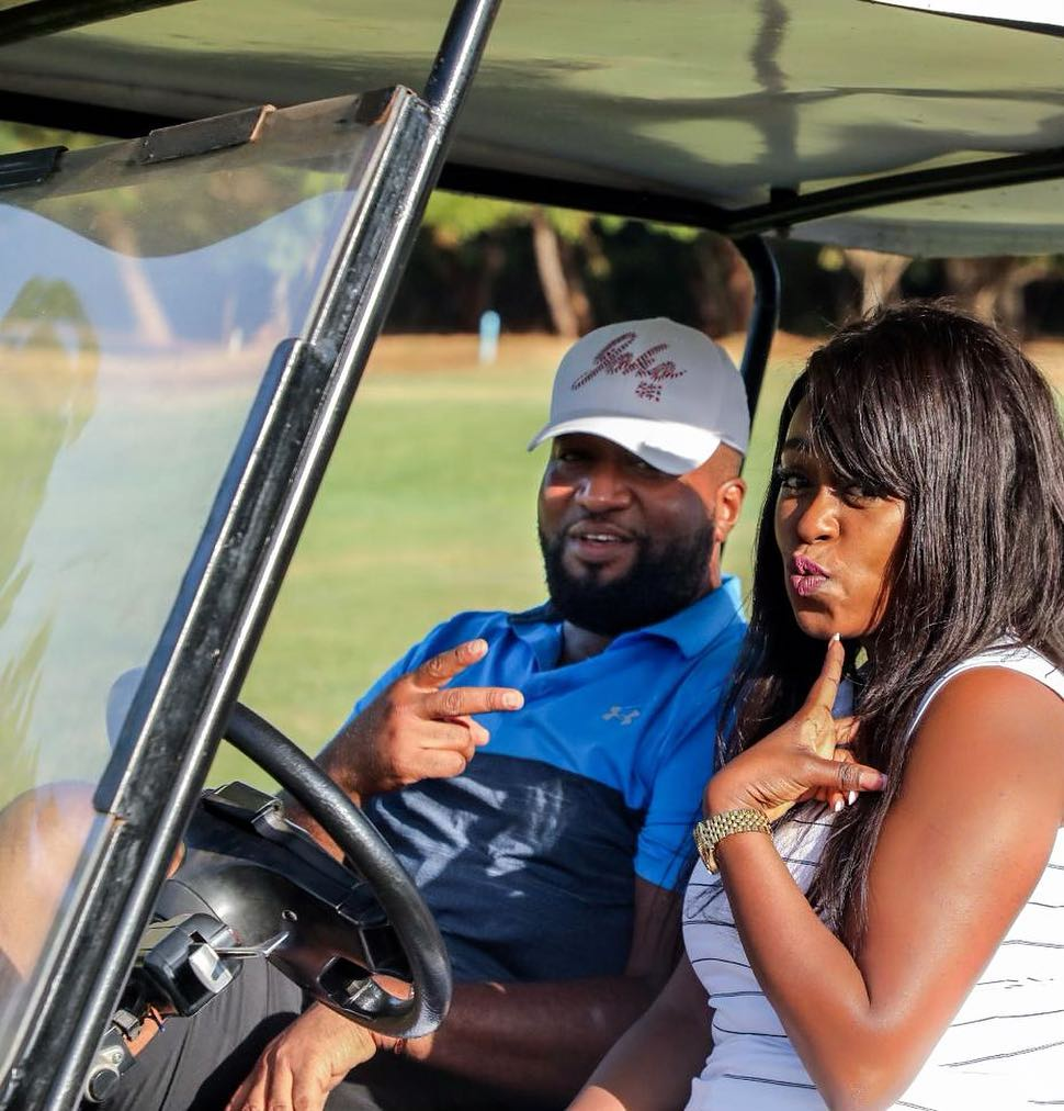 Lillian Muli with Governor Joho