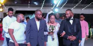 Governor joho during his niece's wedding