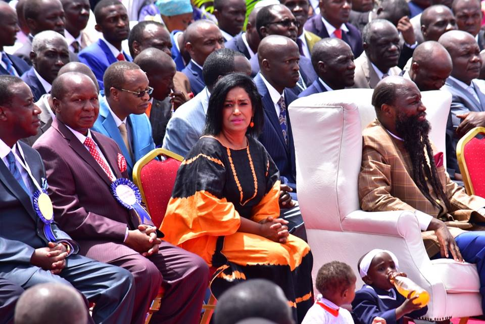54518502 10156715436600412 8590638142002823168 n - 'I'm not boarding!' Esther Passaris's fans react after she went to Prophet Owuor's crusade