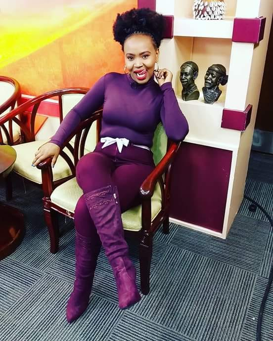 55589245 509748629430169 8434059929496584192 n - 'Dress the way you want!' Kameme presenter tells off haters for criticizing her dress code