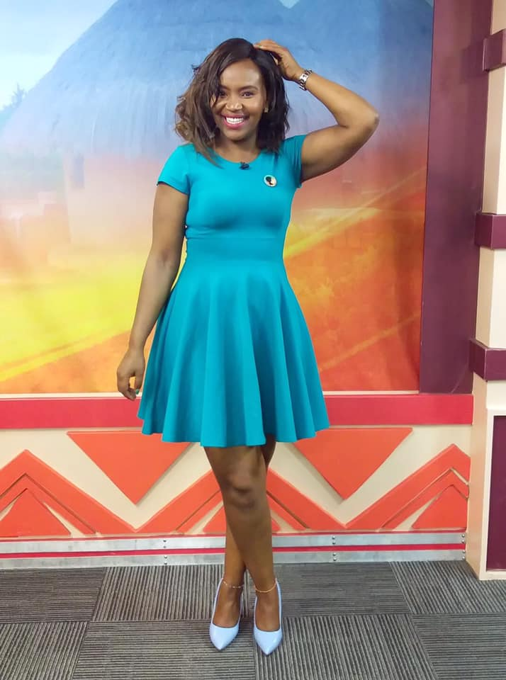 55609095 2339817019409049 250488763354972160 n - 'Dress the way you want!' Kameme presenter tells off haters for criticizing her dress code