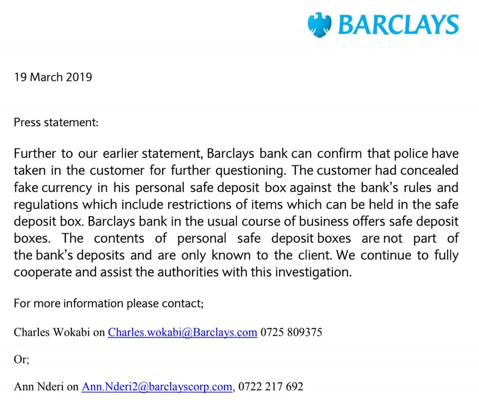 55704701 2392980314256178 5233436986118766592 n - Watajua hawajui! Suspects who were arrested for 20M fake dollars at Barclays