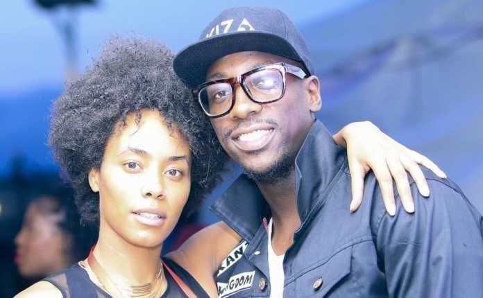 "BIEN AND CHIKI 1 e1500366017295 696x430 - ""I was mind-blown"" Sauti Sol member Bien describes meeting fiancee"