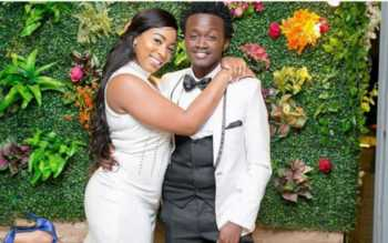 Bahti wife 350x219 - 'Diana used to pack and leave the house,' Bahati narrates marriage struggles