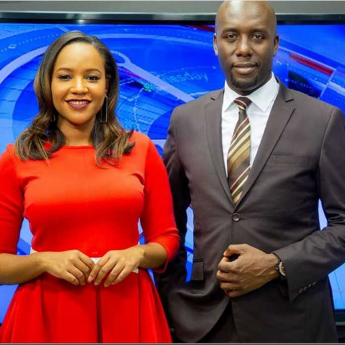 Dennis Okari and Olive Burrows 696x696 - 'I need to rush home,' Dennis Okari tells Olive Burrows after returning from honeymoon