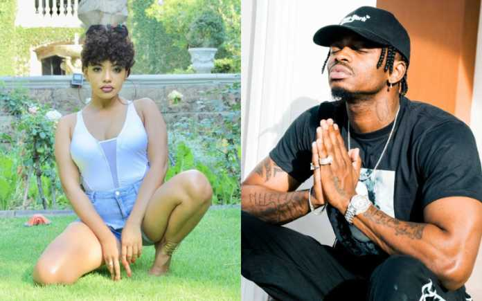 Lynn vs Diamond 696x435 - 'I can't contribute to your wedding,' Diamond Platnumz warns beggars