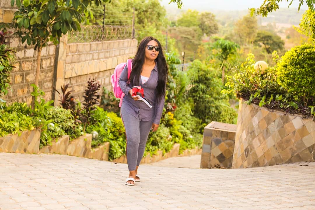 SIZE 81 - Madam pastor! Size 8's transformation since being ordained (PHOTOS)