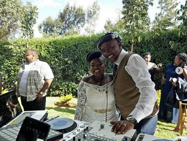 Screenshot from 2019 03 09 13 20 27 - Finally! K24's Deejay Celeb walks down the aisle (Photos)