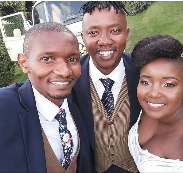 Screenshot from 2019 03 09 13 32 11 - Finally! K24's Deejay Celeb walks down the aisle (Photos)