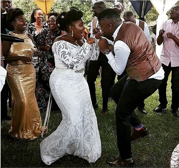 Screenshot from 2019 03 09 13 37 28 - Finally! K24's Deejay Celeb walks down the aisle (Photos)