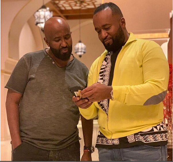 Hassan Joho and his brother