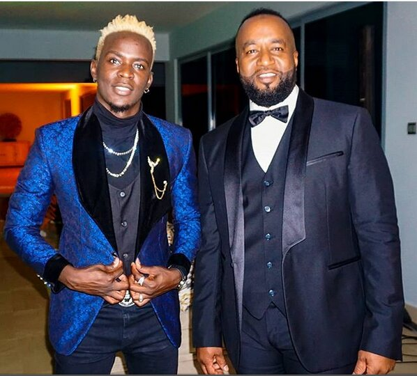 Governor Joho and Willy Paul