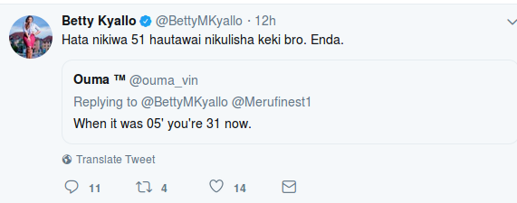 Screenshot from 2019 03 13 071917 - 'Tulizaliwa pamoja?' Betty Kyallo responds to fan who claimed she's 38