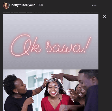 Screenshot from 2019 03 16 11 43 541 388x385 - Photos from Betty Kyallo's surprise birthday on live TV