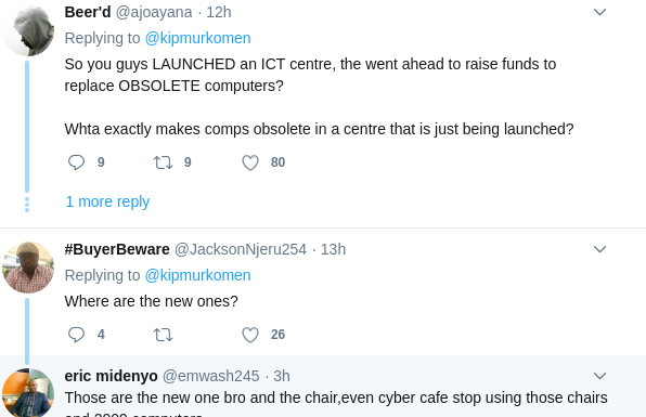 Screenshot from 2019 03 17 122611 596x385 - Mnatubeba ujinga! Kenyans react to DP Ruto's 'old computers'
