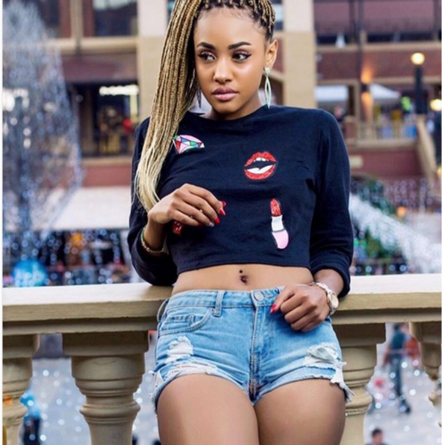 Tanasha Kenya - 'Wacha kuficha mimba!' Tanasha told after appearing in Diamond's video
