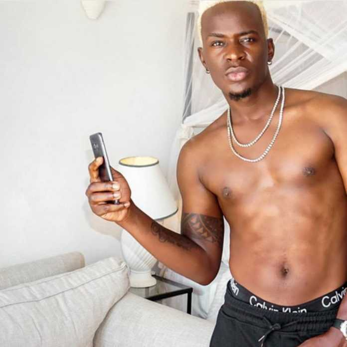 Willy Paul abs 696x696 - 'Utapigiwa bibi!' Willy Paul attacks fan who said he rewinds boxers