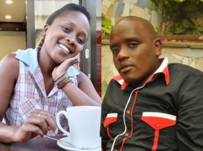 dennis shix 2 696x518 - 'One man, one woman' Shix Kapienga and Dennis Itumbi leave fans ranting