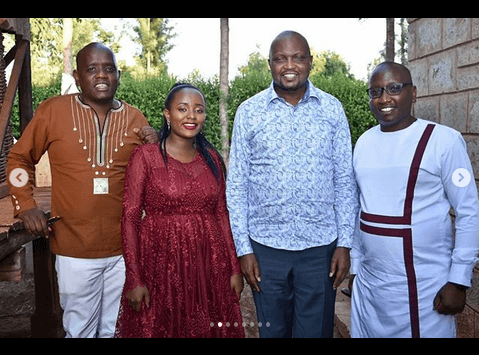 itush - Utaoa lini? Dennis Itumbi's younger brother weds in lavish ceremony