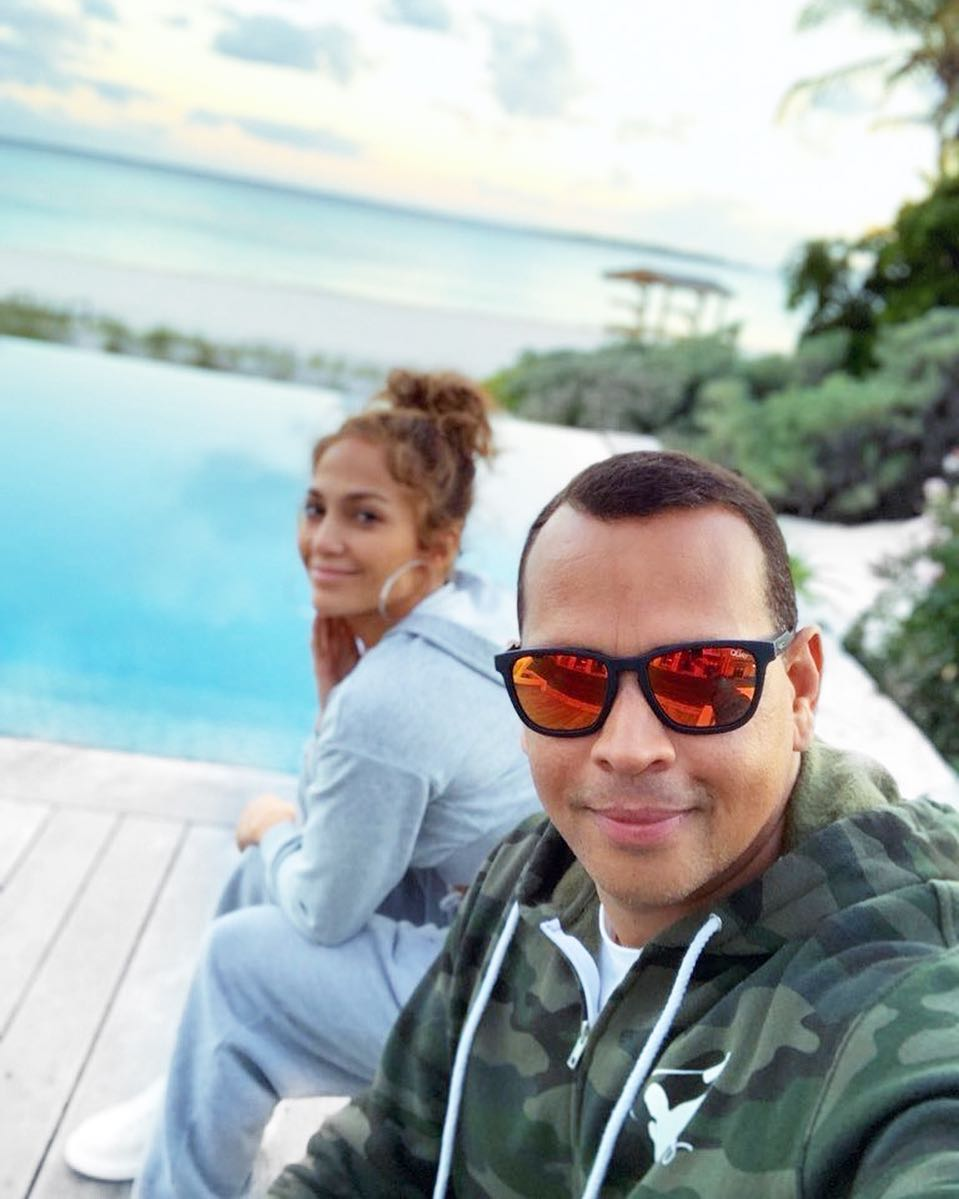 J Lo and A Rod. /COURTESY