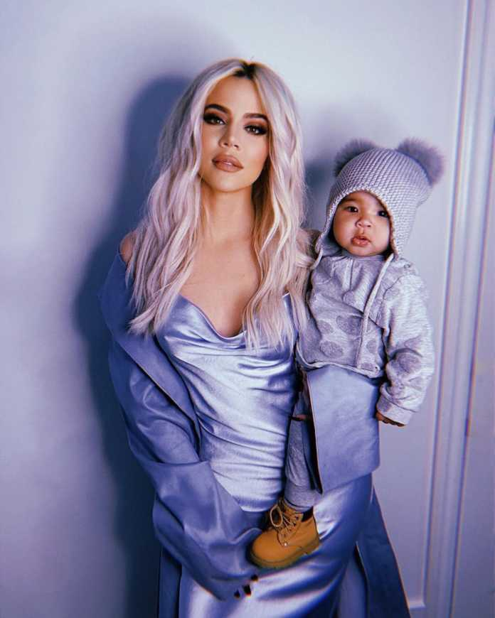 Khloe and her baby, True