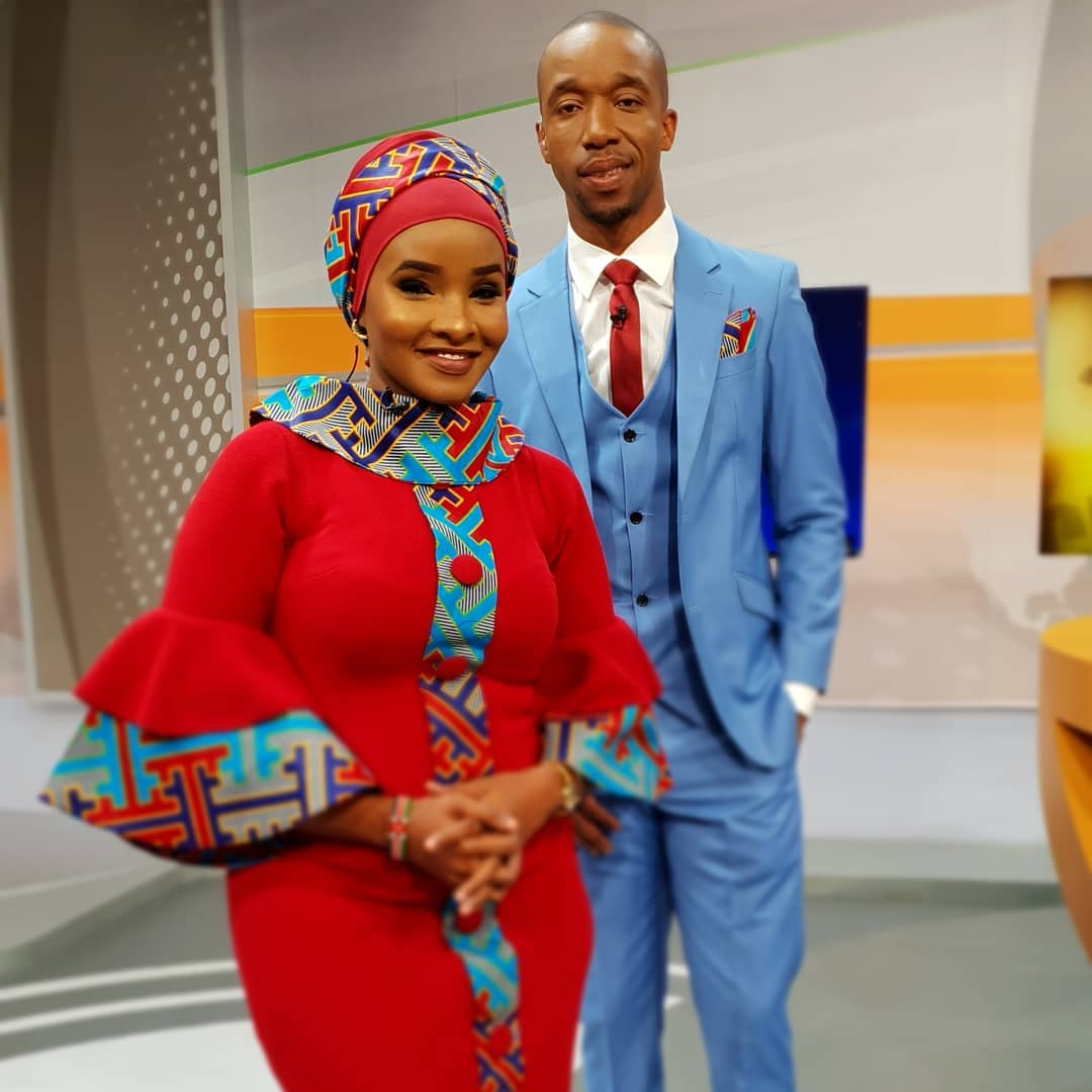 lulu - Perfect match made in heaven! Lulu Hassan and hubby's outfits excite Kenyans