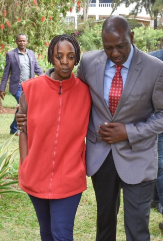 magoo 1 - 'He will be sorely missed', Ruto says during visit to his pilot's Karen home after crash [PHOTOS]