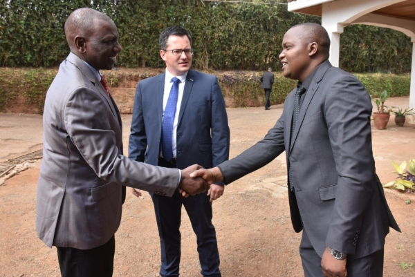 mario mag 1 - 'He will be sorely missed', Ruto says during visit to his pilot's Karen home after crash [PHOTOS]