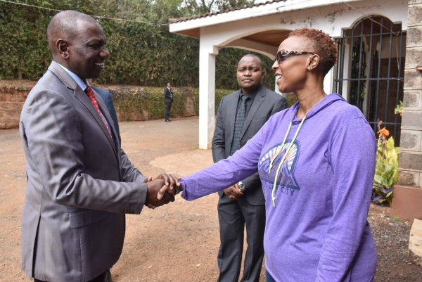 mario magonga 1 - 'He will be sorely missed', Ruto says during visit to his pilot's Karen home after crash [PHOTOS]