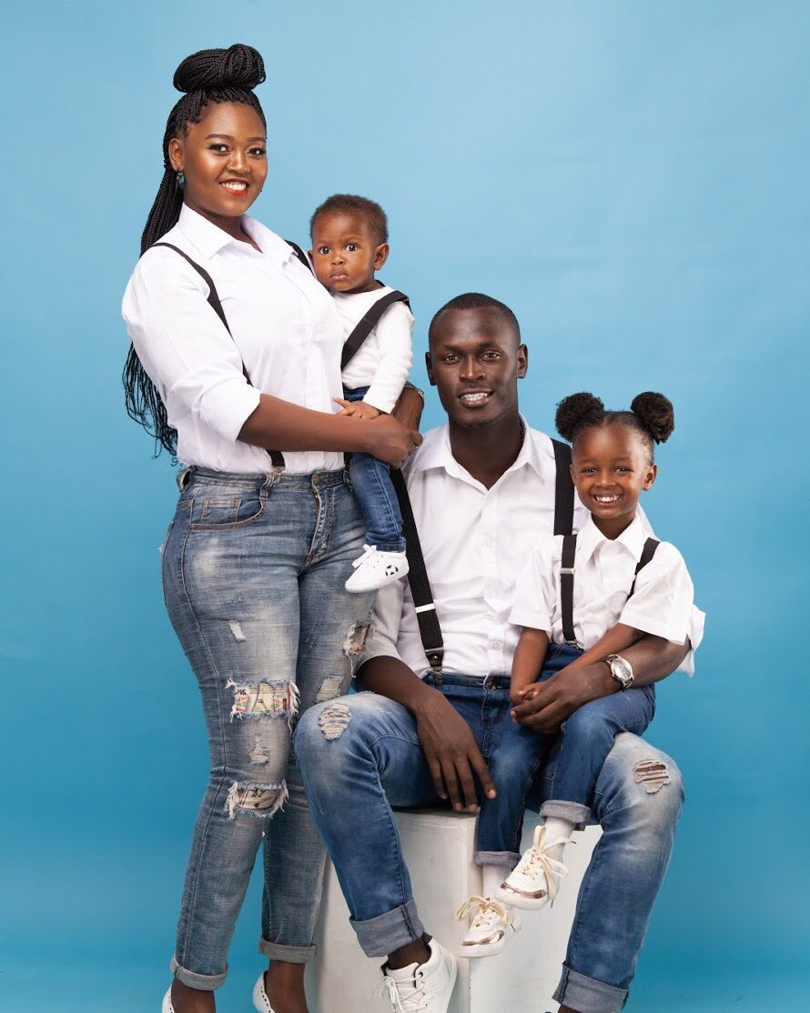 "nana and her family - ""I have high blood pressure"" King Kaka's wife Nana narrates"