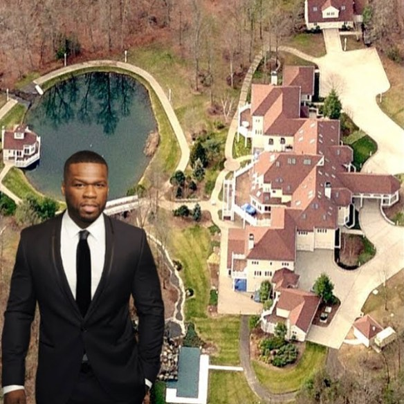 50 cents - Rapper 50 Cent sell his 21 bedroom mansion, gives money to charity