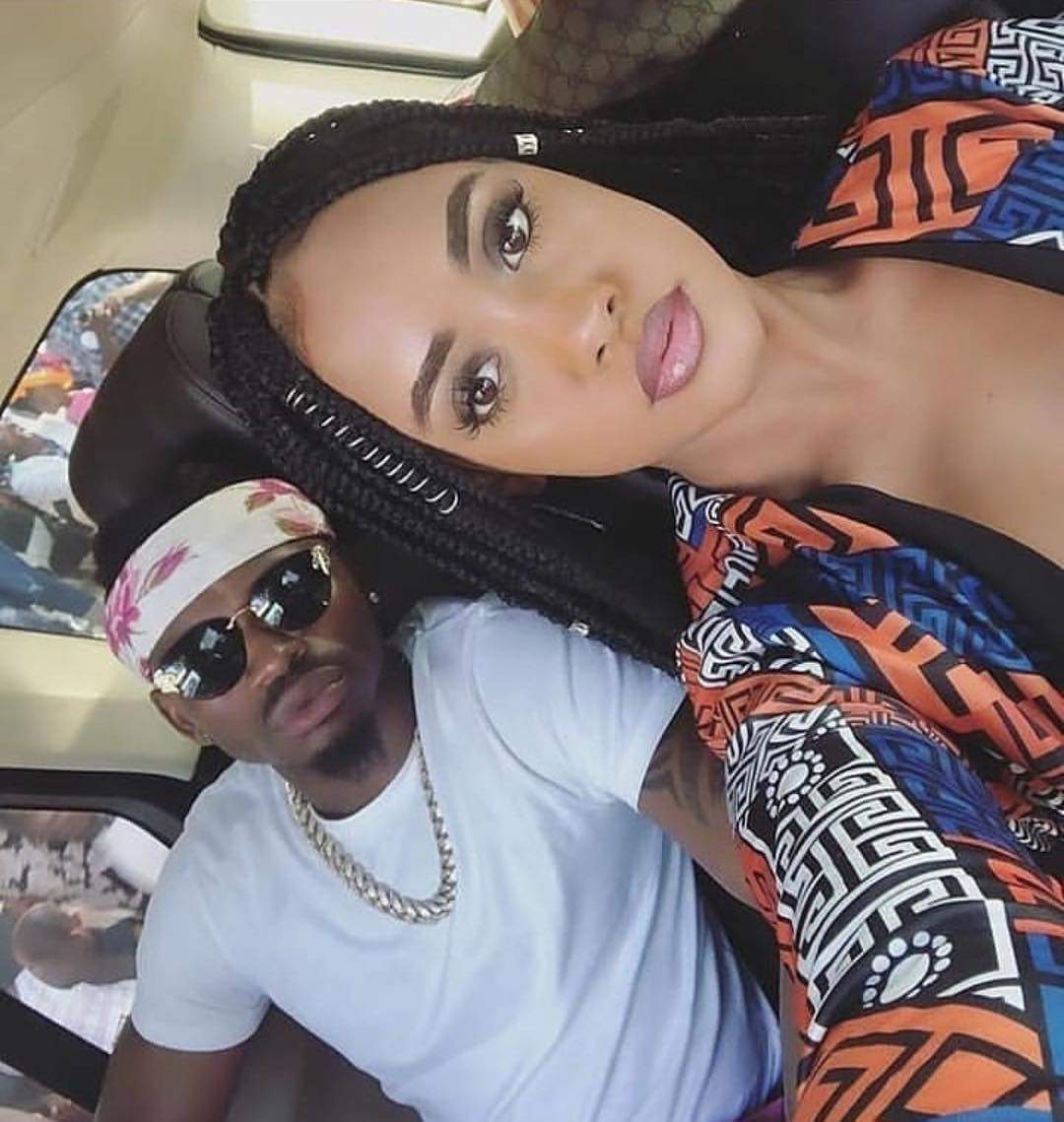 Tanasha Donna pens touching message to her Diamond Platnumz. photo credit: Instagram/tanashadonna