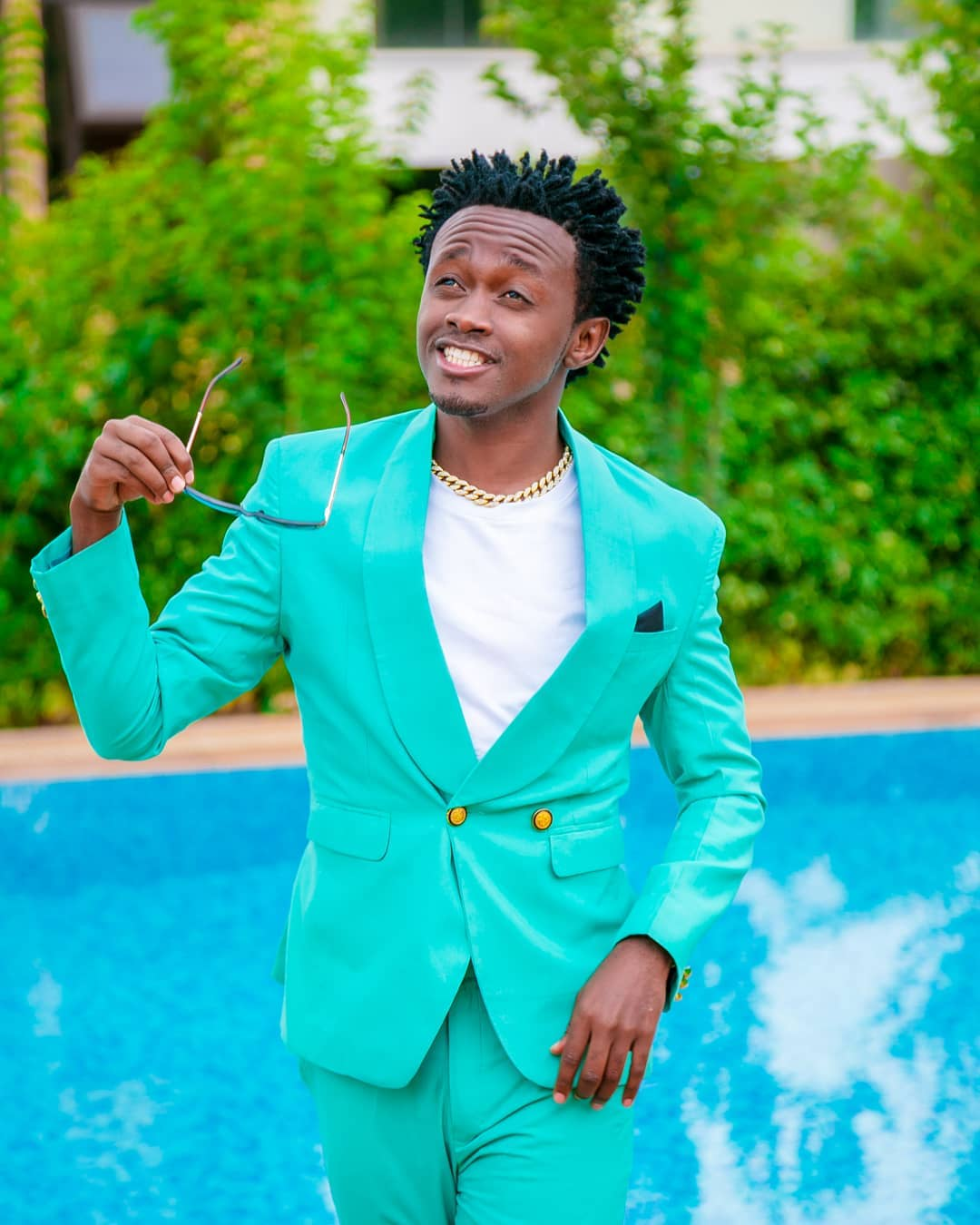 Bahati relaunched his EMB records at KICC yesterday. photo credit: Instagram