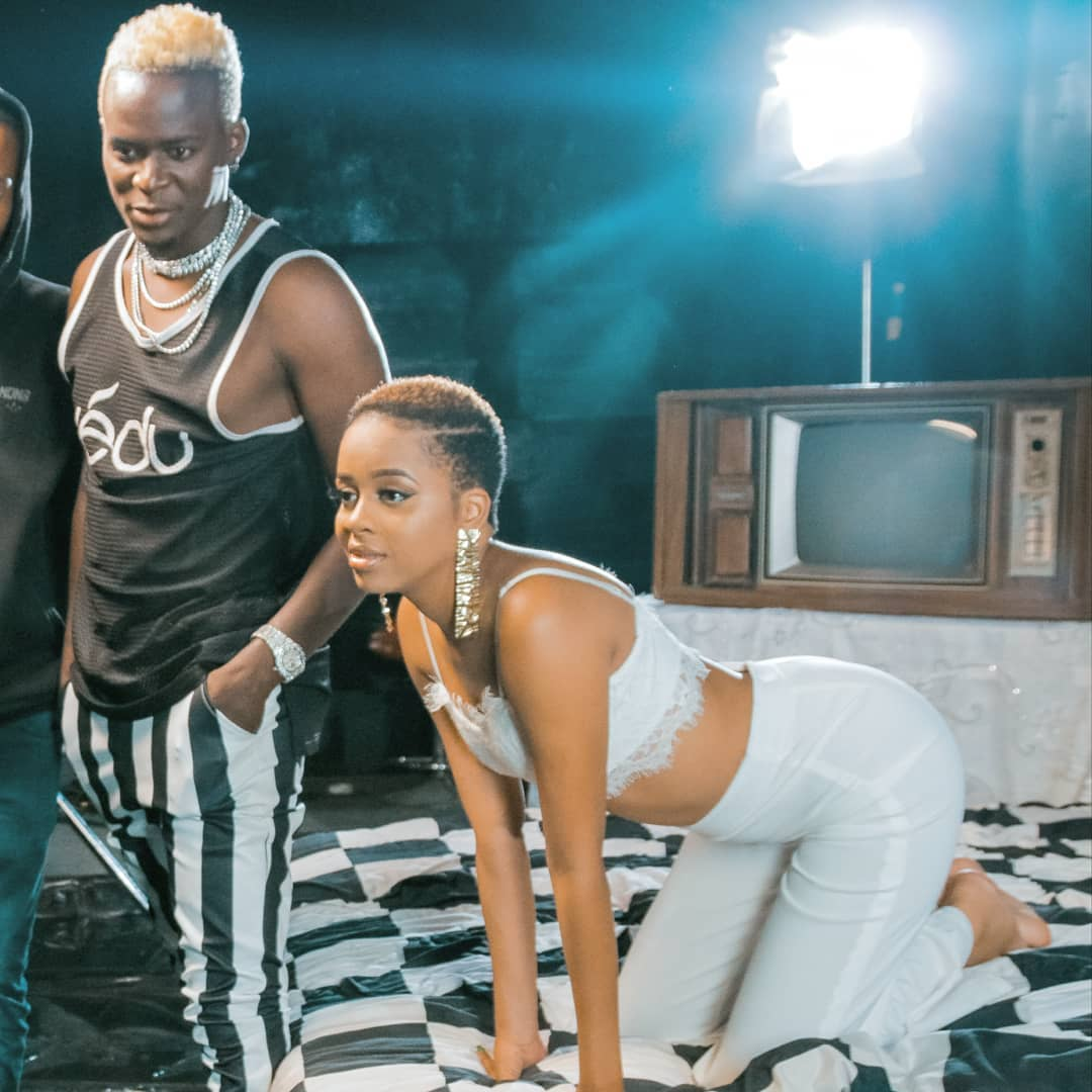 Willy Paul and Nandy