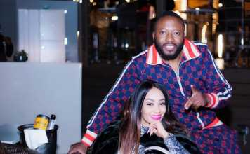 Zari with King Lawrence